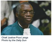 Justice Pius Langa